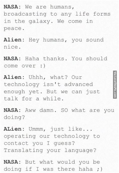 Aliens Should Come Over For Netflix And Chill Pictures ... Instagram Quotes About Love