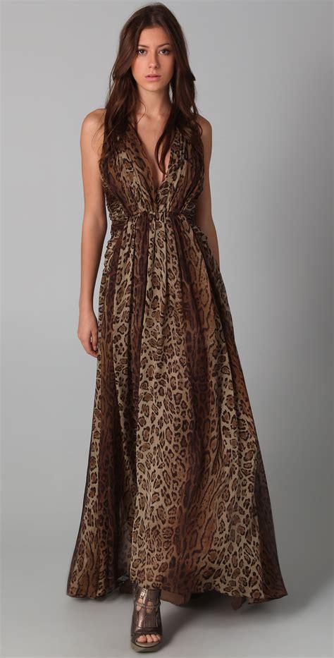 Maxi Dress Trendy 2017 Maxi Leopard rowland s leopard print maxi dress sharp chic