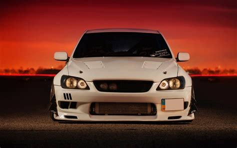 lexus is300 slammed wallpaper slammed toyota altezza wallpaper 1680x1050 456484
