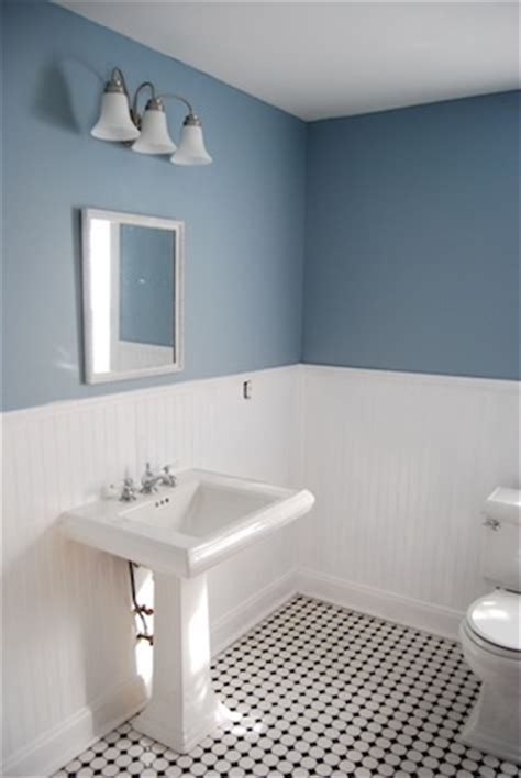 black white and blue bathroom home depot tile for the home pinterest
