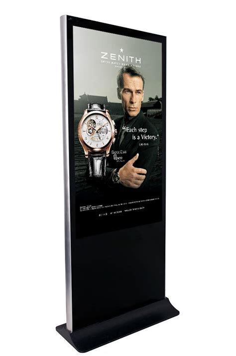 hd werbung floor standing lcd ad player digital advertisement