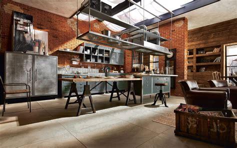 cucine stile industriale trendy cucine stile industriale with cucine stile industriale