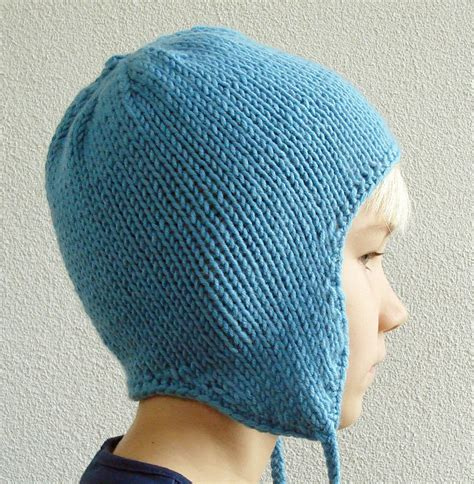 knitting pattern earflap hats for toddlers knitting pattern earflap hat for children