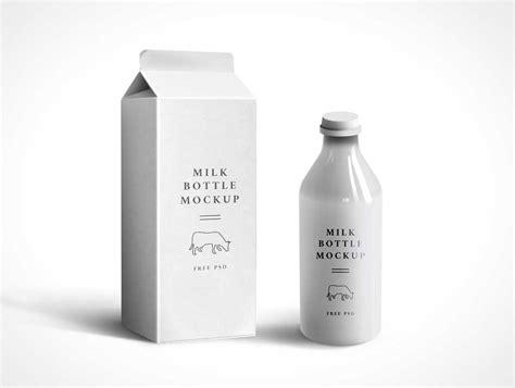 milk design psd milk packaging psd mockup psd mockups