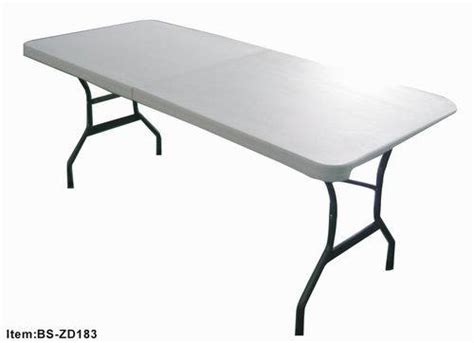 6 Foot Plastic Folding Table China 6 Foot Molded Plastic Folding Table Bs Zd183 China Folding Table Plstic Table