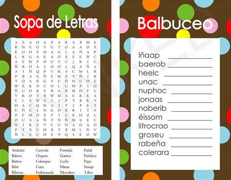 sopa de letras de baby shower para imprimir gratis apexwallpapers 2 in 1 games sopa de letras and balbuceo baby shower