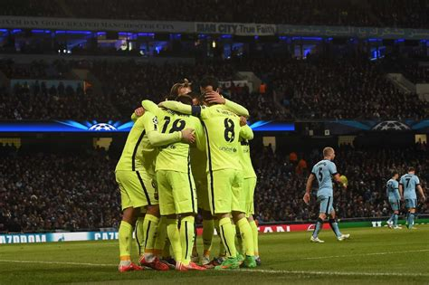 ligue des champions le fc barcelone bat manchester city