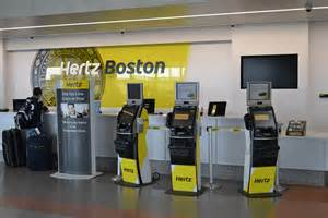 Car Rental Airport Reviews Hertz Car Rental Boston Logan International Airport