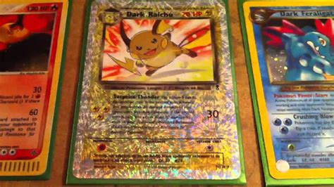 rare old pokemon cards for sale youtube
