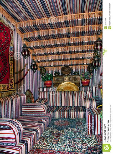 tende beduini tenda beduina di stile immagini stock libere da diritti