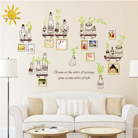 Wallpaper Dinding Sticker Hijau stiker dinding removable stiker vinyl wallpaper warna