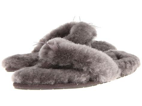 ugg slippers flip flops sheepskin ugg fluff flip flop ii zappos free shipping both ways