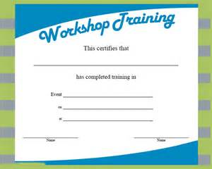workshop certificate template certificate template 21 free word pdf psd