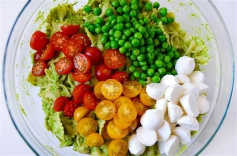 pesto pasta salad recipe just a taste pea pesto pasta salad