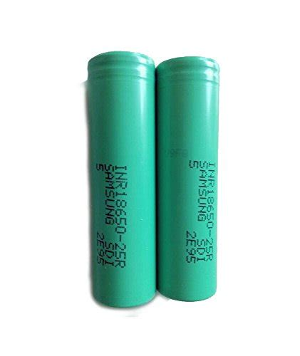 Samsung Inr 18650 25r Li Ion Battery 2500mah 3 7v With Flat Top Samsung 18650 Inr 25r Battery 22a 2600mah Vapeways