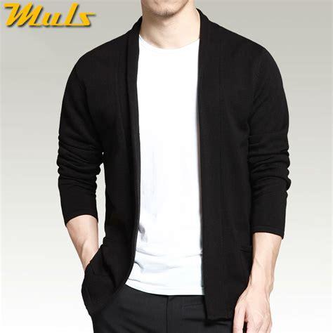 Sweater Wanita Black Casual For F118 cardigan shawl sleeve black color autumn casual sweater cardigan no button