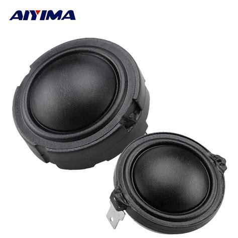 Woofer 6 Elsound Audio Magnet Besar 1 aiyima 2pcs 4ohm 80w 1 5inch 25core tweeter hifi speaker