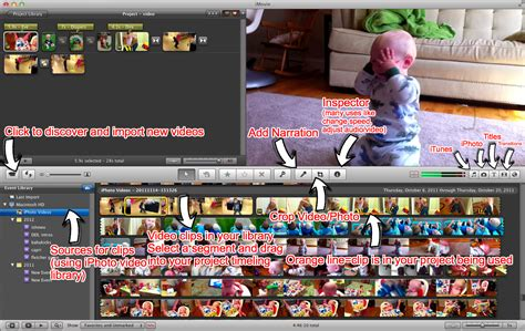 tutorial imovie editing make a kick butt home movie tips on content music and