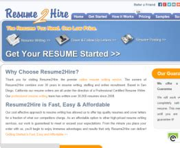 Resume 2 Hire Reviews by Resume 2 Hire Resume Ideas