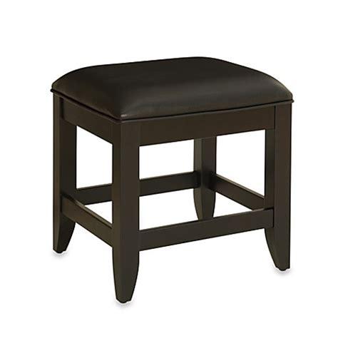 black bathroom vanity bench home styles bedford vanity bench in black bed bath beyond