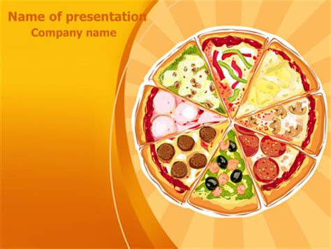 pizza presentation template for powerpoint and keynote