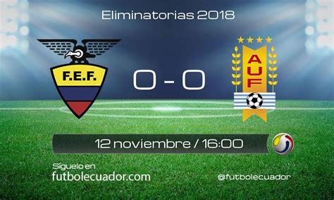 Calendario Serie A Ecuador Futbolecuador Ecuador Uruguay