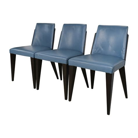 Blue Leather Dining Chairs 90 Potocco Potocco Blue Leather Dining Chairs Chairs