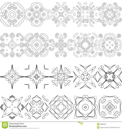 modern design elements vector elements for modern design stock vector image
