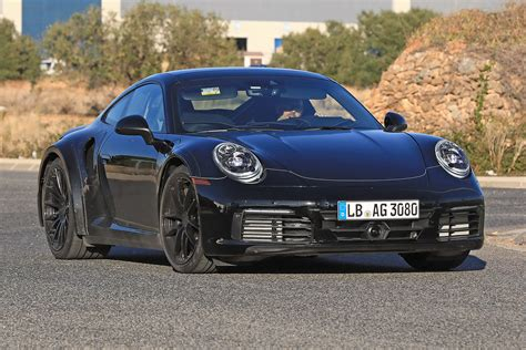new porsche 2019 new 2019 porsche 911 turbo spied for the first time auto