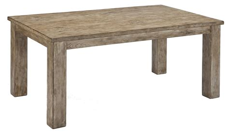 furniture mestler dining table signature design by mestler driftwood finish