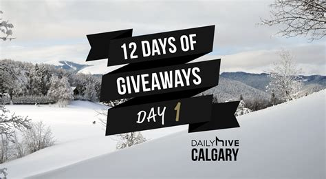Days Of Giveaways - 12 days of giveaways wake up to a better coffee this holiday daily hive calgary