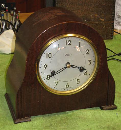 clock made of clocks smith s enfield striking mantel clock clockinfo com