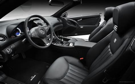 R A R Original Umakuka 3d 200 brabus mercedes sl class interior wallpaper hd car
