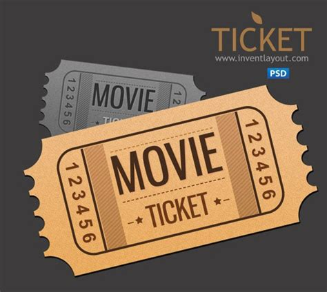 18 event ticket templates psd psdtemplatesblog