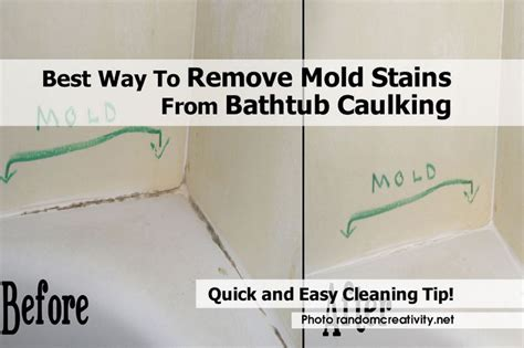 how to clean mold from bathroom best way to remove mold stains from bathtub caulking