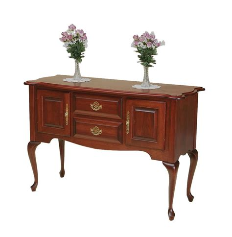 Hickory Dining Room Furniture by Amish Queen Anne Sideboard