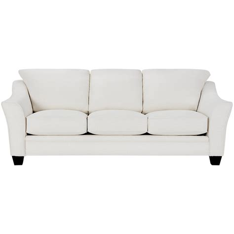 white fabric sofa city furniture avery white fabric sofa