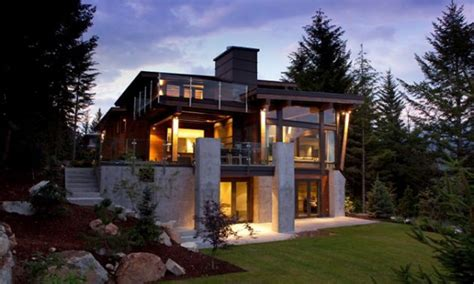 contemporary mountain home plans mountain modern architecture home design contemporary