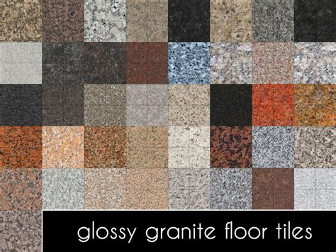 Wood Floor Paint mod the sims updated glossy granite floor tiles