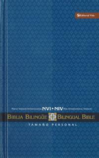 libro nvi niv biblia bilingue tamano biblia bilingue nvi niv tela tamano manual editorial vida