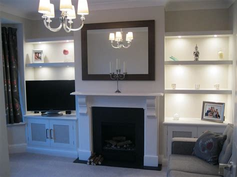 Alcove Shelf by Could Something More Like A Fitted Bookcase With Cupboard In The Dining Room