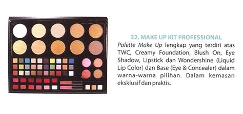 Makeup Kit Professional Wardah Kosmetik by wardah make up kit professional