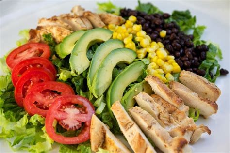 healthy dish salads chipotle chicken salad my healthy dish