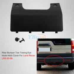 Car Cover Repair Kit Car Rear Bumper Tow Hook Cover Replacement Kit For Land