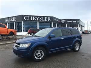 Chrysler Dealership Barrie 2010 Dodge Journey R T Awd Blue Barrie Chrysler