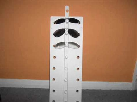 Sunglass Holder Rack For Home by How To Make A Sunglasses Rack Holder
