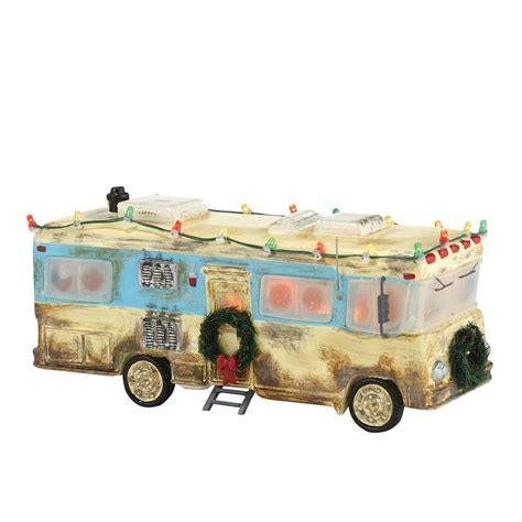 dept 56 christmas vacation village department 56 vacation snow cousin eddie s rv 4030734