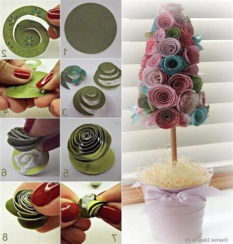 Home Decor Paper Crafts - and craft ideas for home decor step by step world of