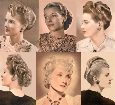 hairstyle facts from the 1940 s hair styles of the last 100 years social serendip