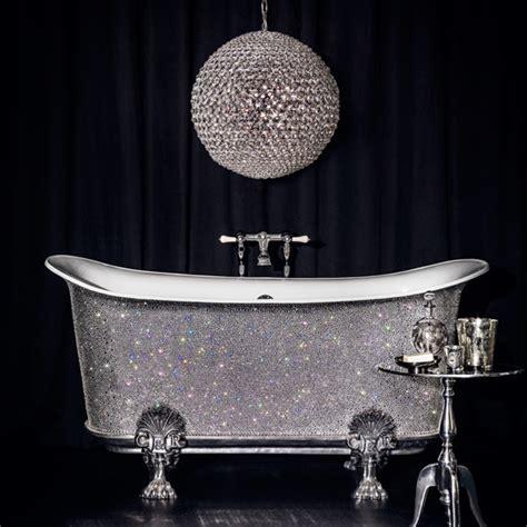 crystal bathtub talk about pouring money down the plughole 163 150 000 bath
